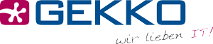 GEKKO – Ihr starker IT-Partner! Logo